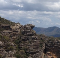 Dragon's Head Blue Mountains, Australia