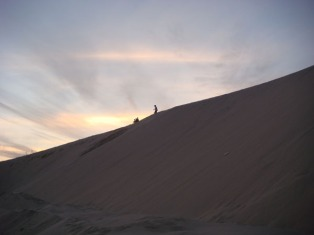 Sand Dunes in Saudi Arabia