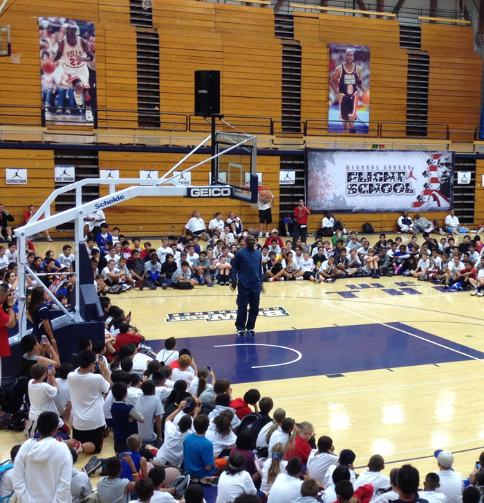 Michael Jordan Basketball Camp