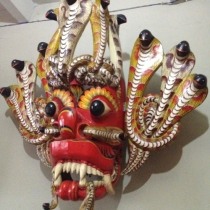 Dragon Mask from Sri Lanka