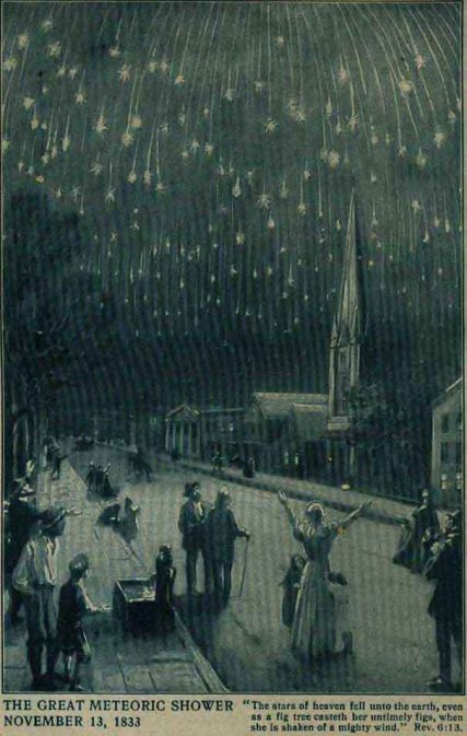 November 13 1833 the night the stars fell