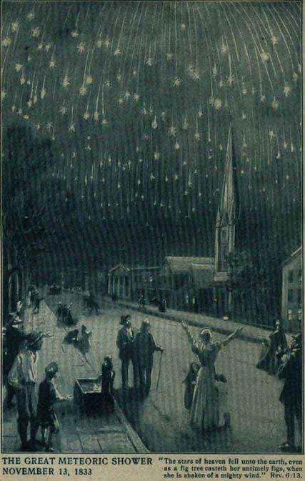 November 13 1833 the night the stars fell