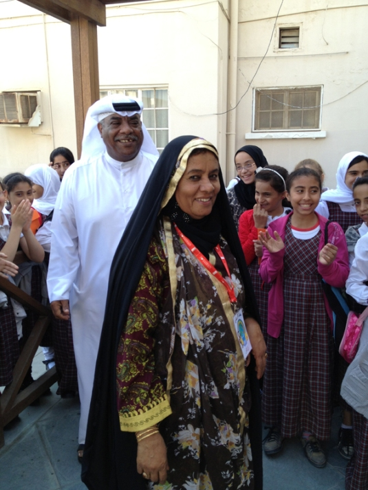 Um Hassan The Mother of Bahrain in Muharraq Bahrain