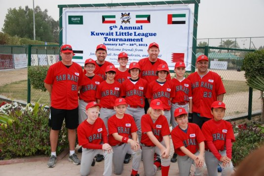 Fifth annual little league tournament in kuwait 2013