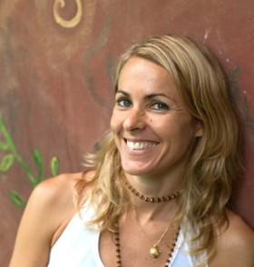 Lucy Roberts Yogini and retreat facilitator
