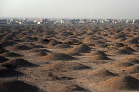 Bahrain burial mounds