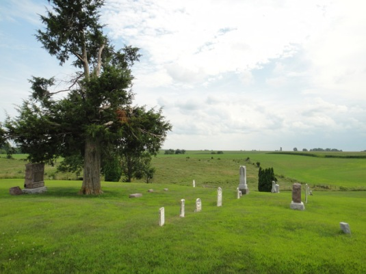 Union Township Cemetery near Oskaloosa Iowa by Eva the Dragon 2011_edited-1