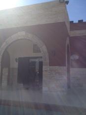 caravanserai desert highway jordan entrance
