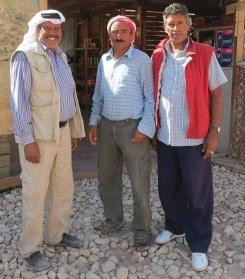 Haroun and his buddies