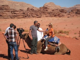 interview with jordan tv wadi rum jordan
