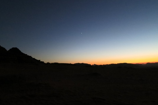 Nearly dark wadi rum jordan by eva the dragon october 2013