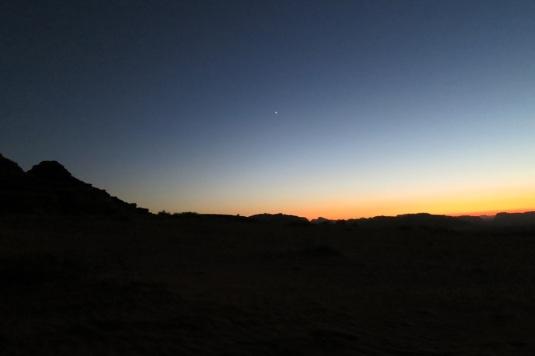 Nearly dark wadi rum jordan by eva the dragon october 2013