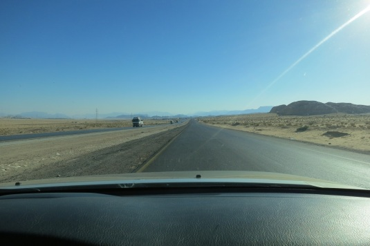 On to Aqaba south on the desert highway
