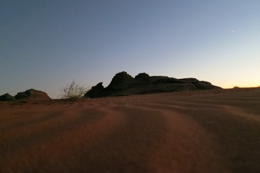 Sunset wadi rum by eva the dragon oct 2013