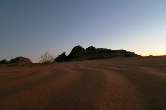 Sunset wadi rum by eva the dragon oct 2013