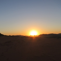 Sunset Wadi Rum by Eva the Dragon