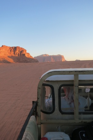 to camp abdullah truck wadi rum