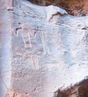 Nabataean Petroglyphs Wadi Rum