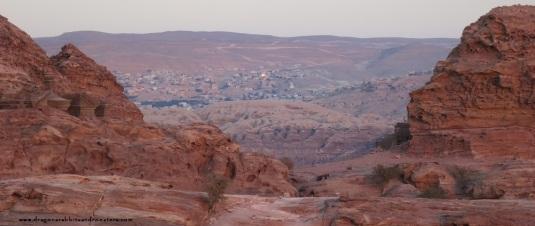 IMG_1061 ligh on wadi mussa petra jordan by eva the dragon 2013