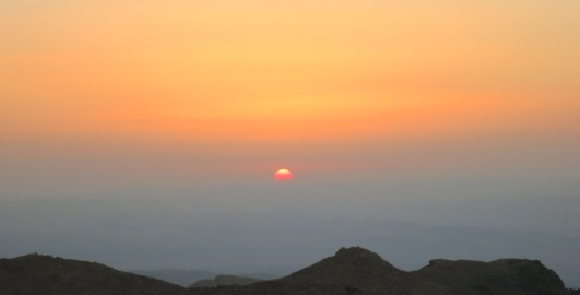 IMG_1064 sunset over rift valley petra jordan by eva the dragon 2013