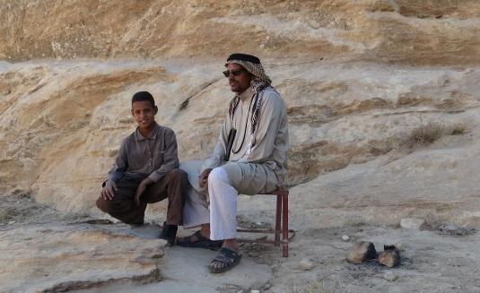 Jouma Petra Bedouin Guide Jordan by Eva the dragon 2013