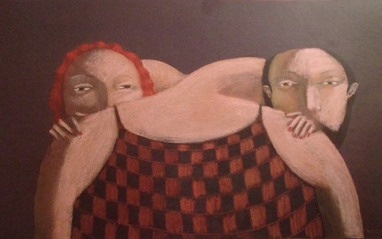 annie kurkdjian #art man and woman 2012