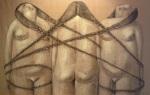 annie kurkdjian #art three sisters in chains2013