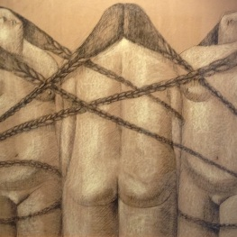 annie kurkdjian #art three sisters in chains 2013