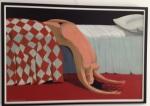 annie kurkdjian bored woman bed #art2013