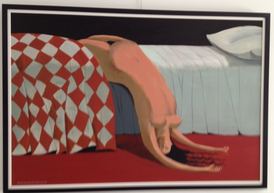 annie kurkdjian bored woman bed  #art 2013