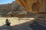 bedouin guide describing #petra by eva the dragon2013