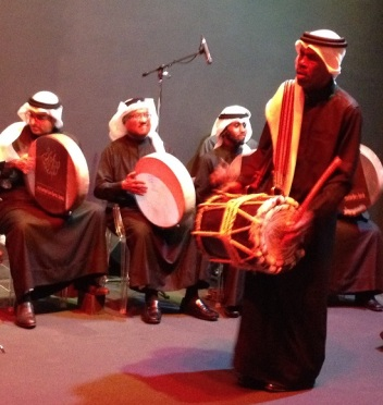 mohammed bin faris band dance with drum