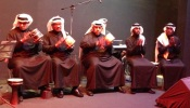 mohammed bin faris band with drummers