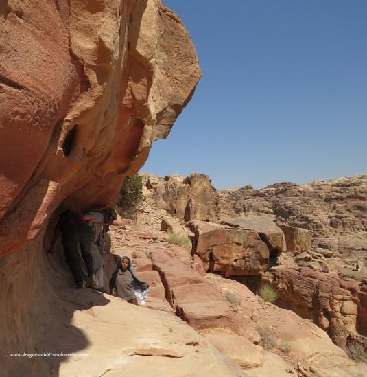 petra cliff walking by eva the dragon 2013