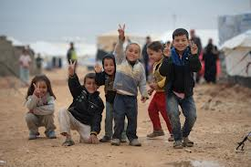 zaatari refuge camp peace by kids baltimore sun
