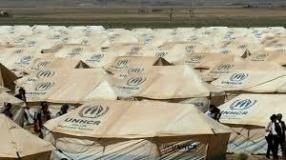 zaatari refuge camp unhcr tents