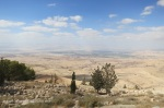 Holy land from Mount Nebo by Eva the Dragon dragonsrabbitsandroosters