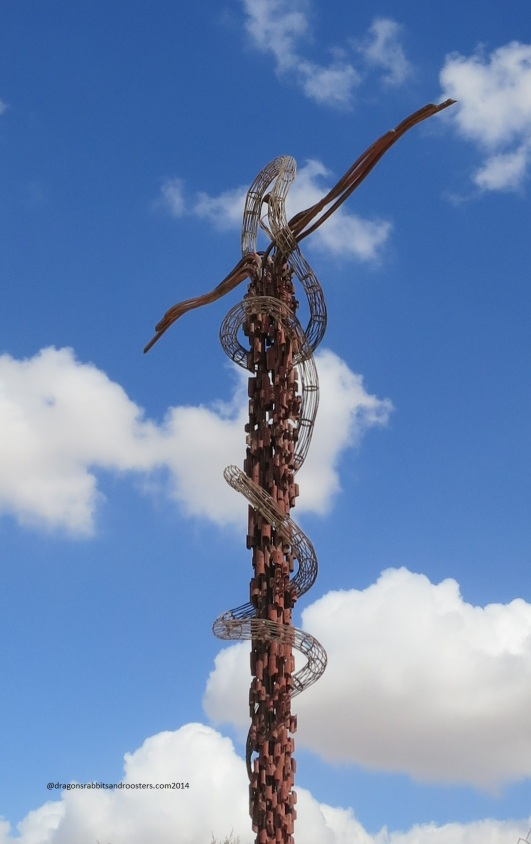Cross on Mount Nebo