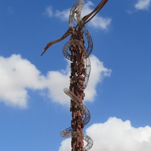 Cross on Mount Nebo