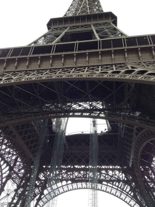 paris eiffel tower by eva the dragon 2014
