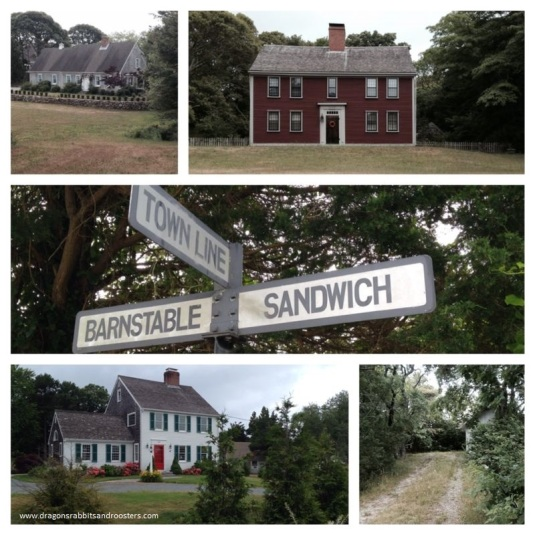 barnstable and sandwich town line